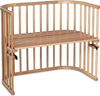 babybay Maxi bardzo duże łóżko dostawiane z litego drewn