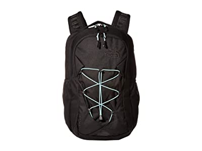 The North Face Jester Backpack (TNF Black/Windmill Blue) Backpack Bags