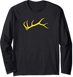 New Mexico Elk Shed Rack Horn Hunting Long Sleeve T-Shirt