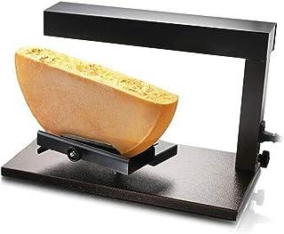 Machine électrique de fondeur de fromage à raclette - Réchauffeur de fonte de gril à fromage en acier inoxydable à angle r...