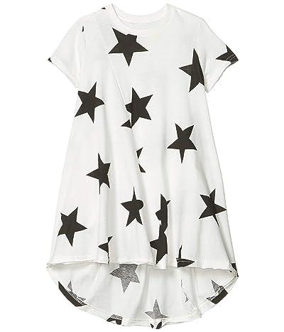 Nununu Star 360 Dress (Infant/Toddler/Little Kids) (White) Girl