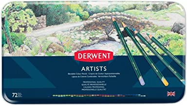DERWENT(R) R32087 ARTISTS PENCILS, TIN 72