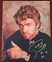 George Michael Autographed Glossy 8x10 Photo COA #GM58972