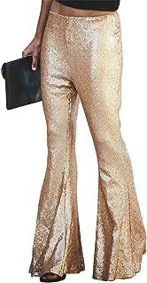 Best gold sequin bell bottoms Reviews