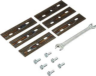 AL-KO 127465 Cuchillas de repuesto para robot cortacésped Robolinho 500/700 E/I (juego de 3) de larga duración, corte perfecto, fácil montaje