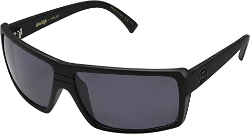 Black Smoke Satin/Vintage Grey Wildlife Polarized Lens