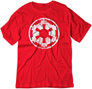 BSW Men's Star Wars Imperial Crest Empire Logo Sith Lord Shirt