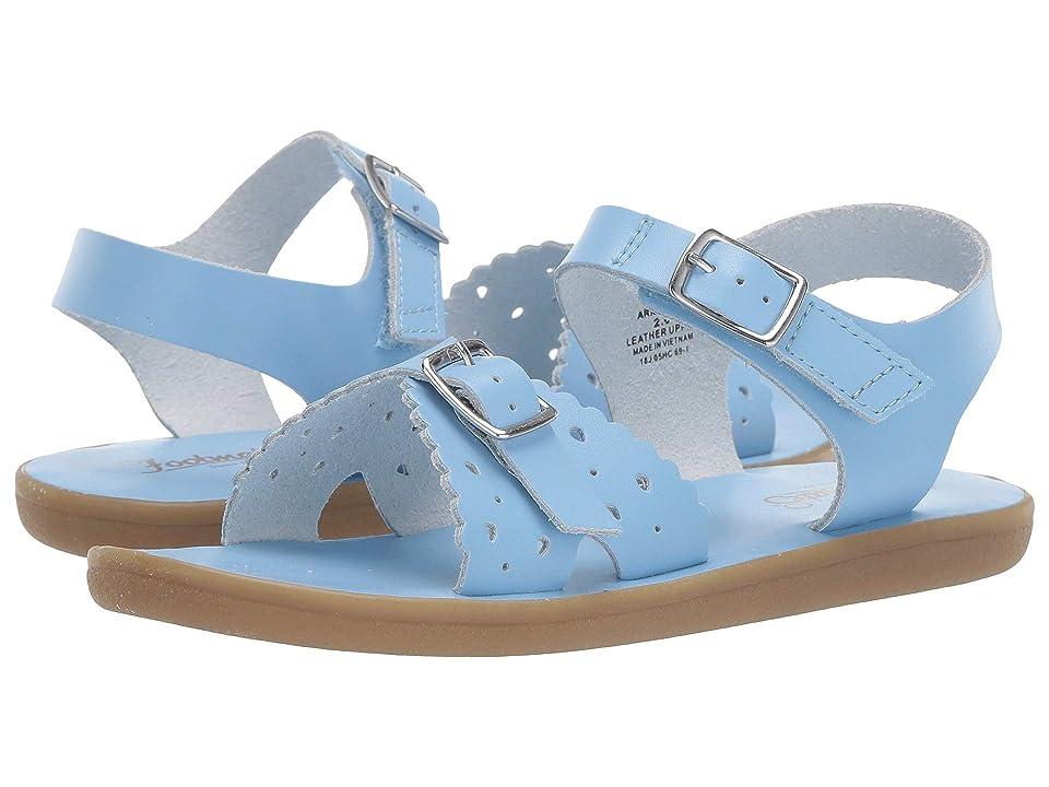 FootMates Ariel (Infant/Toddler/Little Kid) (Blue) Girls Shoes