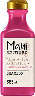 Maui Moisture Champú Hidratación Ligera con Agua de Hibisco Hidrata y Suaviza 385 ml