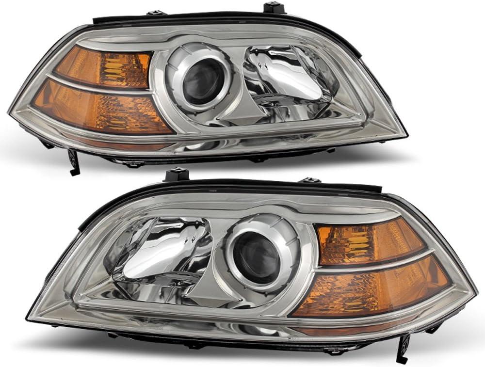 ACANII - Under blast sales For 2004-2006 Acura MDX Washington Mall Light Headlights Head Headlamps