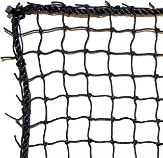 Just For Nets JFN Nylon Golf Practice/Barrier Net, Black