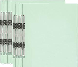 プラス フラットファイル A4縦 2穴 10冊パック No.021NP 78-595 ブルー