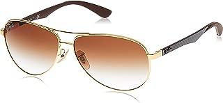 Ray-Ban Mens Carbon Fibre Sunglasses (RB8313) Metal,Steel