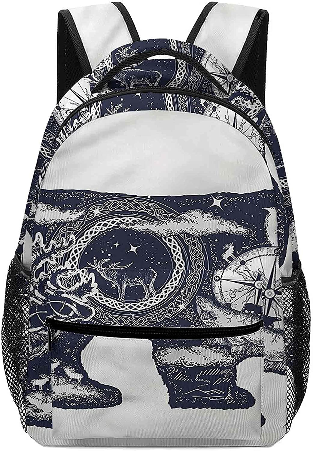 16.5 Inch Our shop most popular Backpack for Boys Tattoo Polar Perfect Cheap mail order specialty store Bear Girls