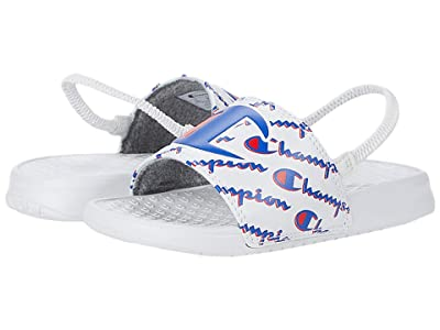 Champion Kids Super Slide Mega Script (Toddler) (White) Kid