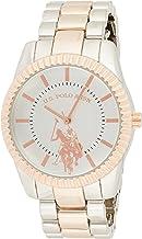 U.S. Polo Assn. Women's Analog-Quartz Watch with Alloy Strap, Two Tone, 8 (Model: USC40263)