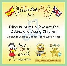Chansons en anglais et en espagnol pour les enfants | CD de chansons bilingues pour les bebes