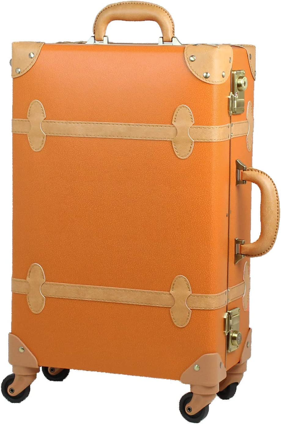 MOIERG Trolley Luggage Vintage suitcase Lock 71-55062-7 with Houston Mall TSA Cheap mail order shopping