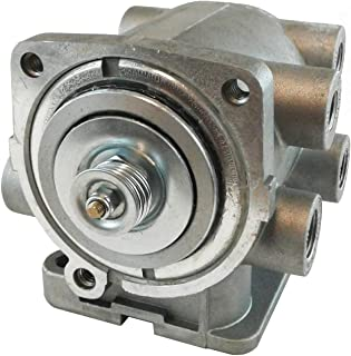 E-7 Pedal Foot Control Brake Valve - Dual or Split Air Brake Systems for Heavy Duty Big Rigs