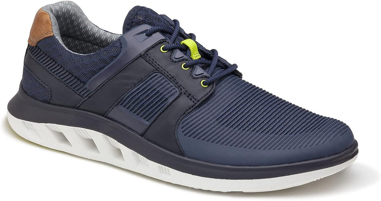 Johnston Murphy Max 79% OFF Men's Activate Plain Con Direct sale of manufacturer Breathable Toe Shoe