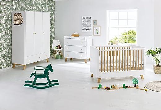 Pinolino 103420BG Kinderzimmer 'Pan' breit groß, weiß