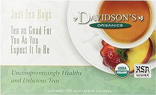 Davidson's Tea Decaf Earl Grey, 100-Count Tea Bags