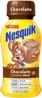 Nesquik Chocolate Low Fat Milk (8 oz. bottles, 15 pk.) (pack of 2)
