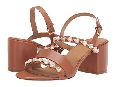 Tory Burch 65 mm Emmy Pearl Sandal (Tan) Women