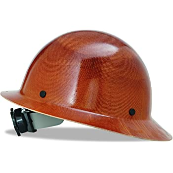 MSA 475407 Natural Tan Skullgard Hard Hat with Fas-Trac Suspension