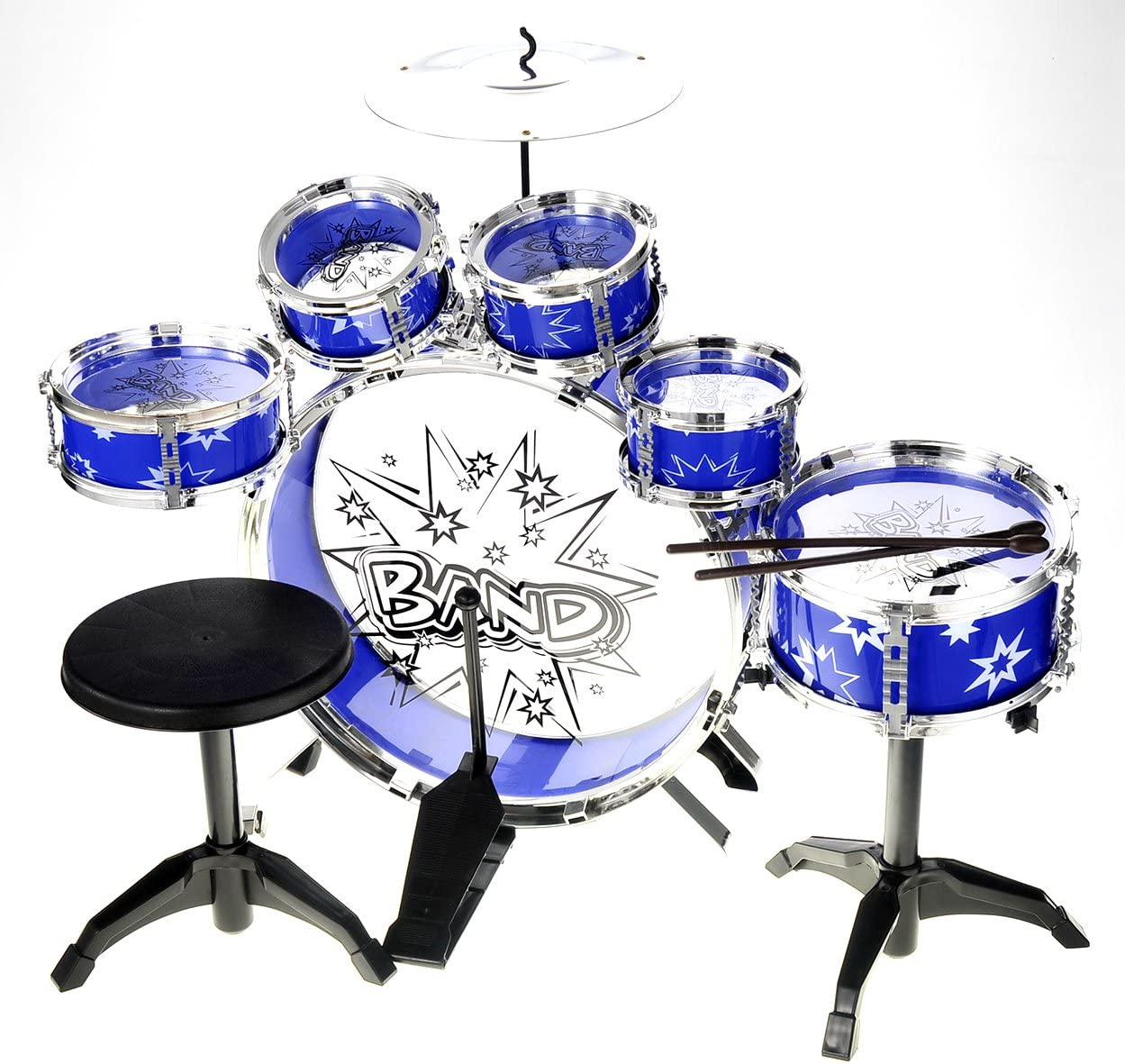 PowerTRC Musical Drum Set Toy 6 Kids Includes Selling and selling For D Gorgeous