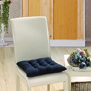 Sothread Soft Seat Cushion Indoor/Outdoor Garden Patio Home Kitchen Office Sofa Chair Pad (Navy)