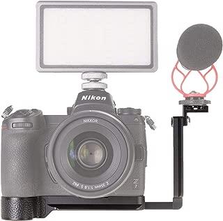 WEPOTO GP-Z7L Metal Bracket Hand Grip Tripod Quick Release Plate Video Panorama Vertical L Plate Bracket for Nikon Z6/Z7