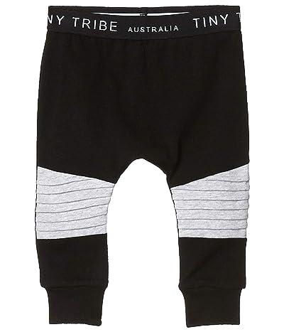 TINY TRIBE Ribbed Knee Leggings (Infant)