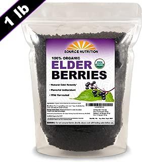 organic dried elderberries