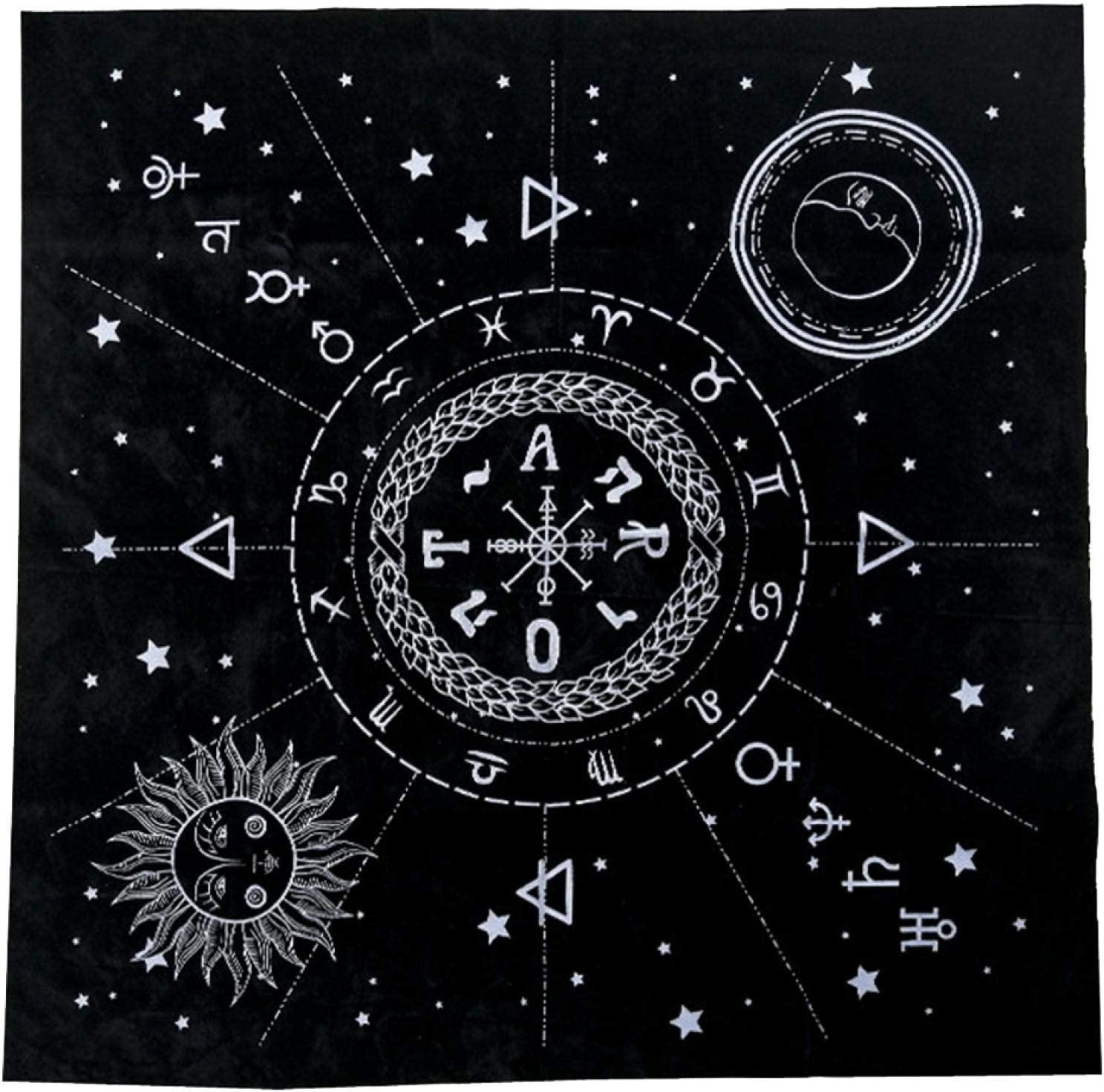 EKDJKK Tarot Max 81% OFF Magic Tablecloth Special price Cards Table Myst Cloth with