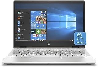HP Pavilion x360 14-cd1007ne, 2 in 1 Laptop, Intel Core i7-8565U, 14 Inch, 1TB HDD + 128GB SSD, 12GB RAM, Nvidia Geforce MX130 (4 GB GDDR5), Win 10, Eng-Ara KB, Silver