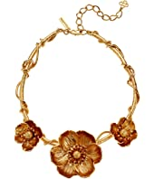 Oscar de la Renta - Poppies Flower Necklace