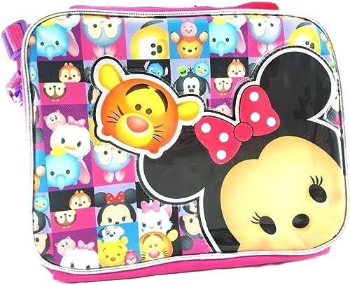 A la venta con descuento del 70%. Disney Tsum Tsum School Lunch Bag Insulated Snack Cooler Cooler Cooler Box  venta caliente