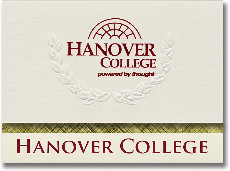 Signature Ankündigungen Hannover College Graduation Ankündigungen, platin Stil, Elite Pack 20 mit Hannover College Seal Folie B0793JSQLD  | Deutschland Shop