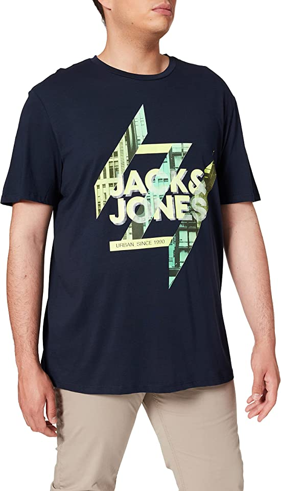 Herren Jjspring Tee Ss Crew Neck Ps T-Shirt