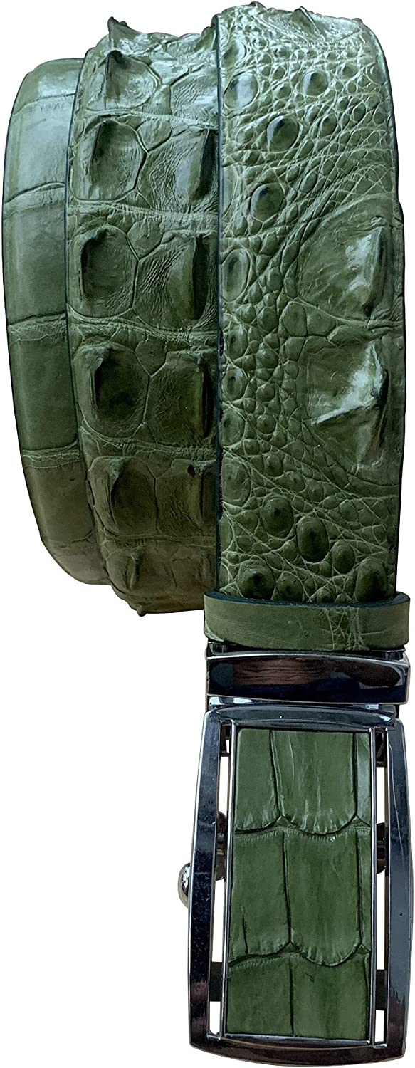 Green Genuine WHOLE Crocodile Alligator 2021new shipping free Me service for leather skin belt