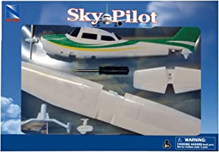NewRay 1:42 Cessna 172 Skyhawk with Wheel Diecast Aircraft,,