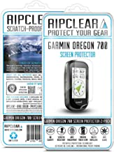 Ripclear Compatible with Garmin Oregon 700 GPS Screen Protector Kit - Military Grade Scratch-Resistant, Smooth Touch, Anti-Glare - 2-Pack