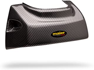 Maier USA Hood Cap for Suzuki LT250R QuadRacer - Black Carbon Fiber - 50979-30