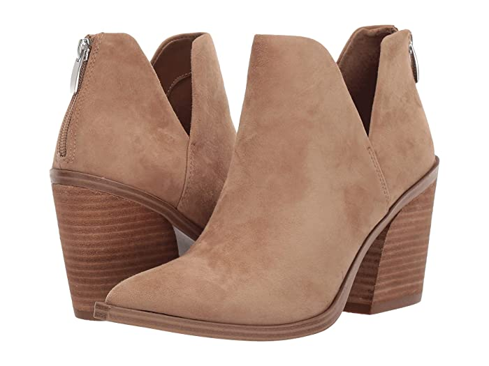 Steve Madden  Alyse Bootie (Tan Suede) Womens Shoes