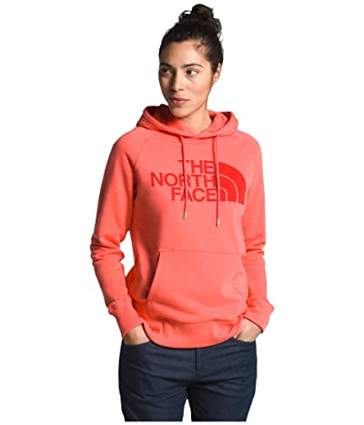 The North Face Half Dome Pullover Hoodie (Miami Orange) Women