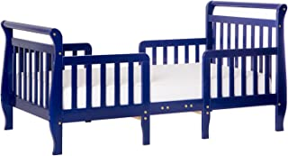 Dream On Me Emma 3 in 1 Convertible Toddler Bed, Royal Blue