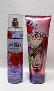 Bath & Body Works - Signature Collection - FRENCH LAVENDER & HONEY- Gift Set- Fine Fragrance Mist & Ultra Shea...