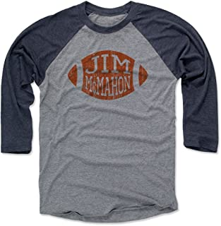 500 LEVEL Jim McMahon Shirt - Vintage Chicago Football Raglan Tee - Jim McMahon Football