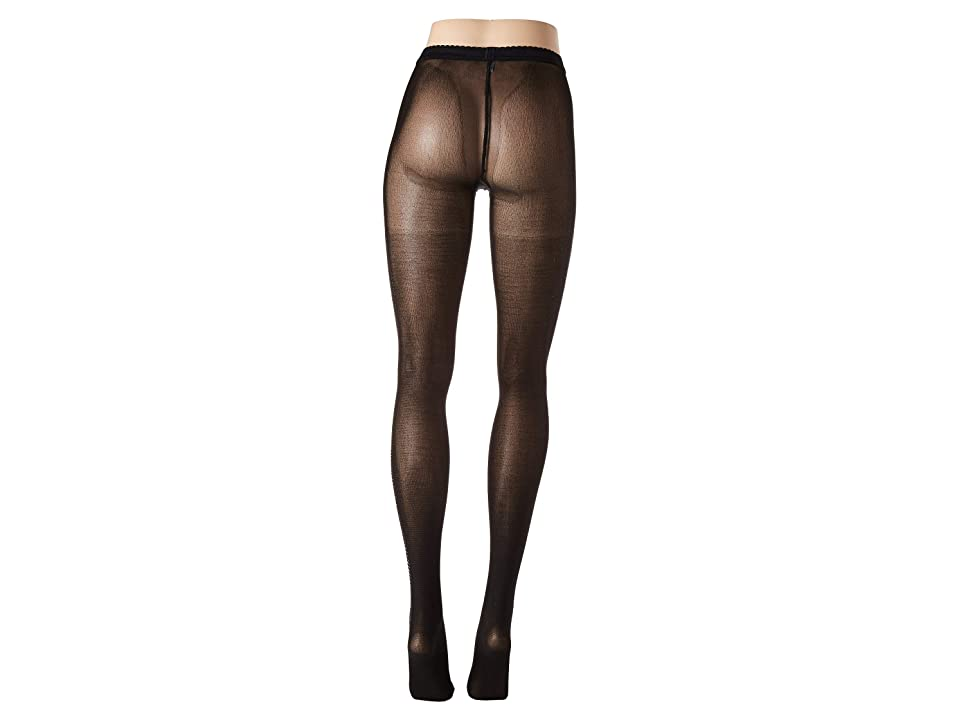 Wolford Silver Dust Tights (Black/Silver) Hose